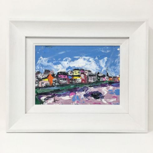 in klöver | ni design - Aly Harte - 'Portstewart Promenade' Original Oil on Canvas